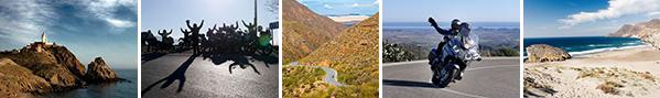 Hispania Tours - Exklusive                                 Motorradtouren in Spanien, Portugal und                                 Marokko. BMW Motorcycle Miete in Malaga                                 und Barcelona