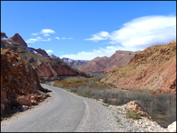 Motorcycles in the desert
