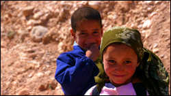 Kids in Morocco