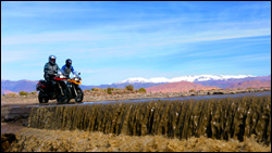 BMW Motorcycle in Morocco