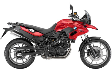 BMW F 700 GS rental motorcycle