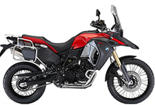 Motorcycle rental BMW F 800 GS Adventure Spain