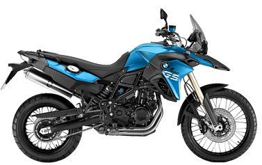 Motorcycle rental BMW F 800 GS