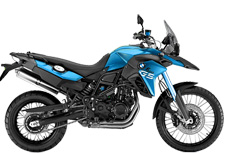 Motorcycle rental BMW F 800 GS Spain