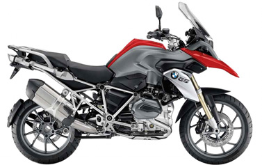 BMW R 1200 GS motorcycle rental Spain
