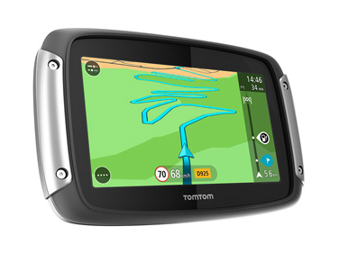 TomTom Rider 400 satnav included